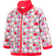 Color Kids Tugo Mini 2 Face Fleece - Veste Enfant - gris/rouge